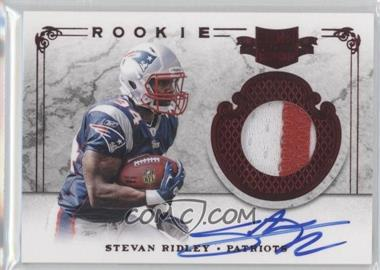 2011 Plates & Patches - [Base] #223 - Stevan Ridley /499