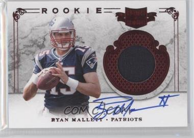 2011 Plates & Patches - [Base] #224 - Ryan Mallett /299