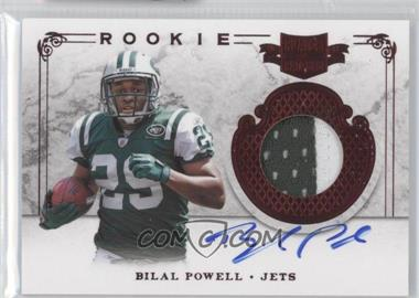 2011 Plates & Patches - [Base] #234 - Bilal Powell /499