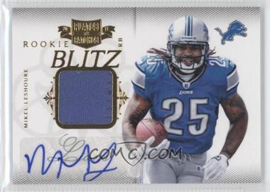 2011 Plates & Patches - Rookie Blitz - Materials Signatures [Autographed] [Memorabilia] #27 - Mikel Leshoure /25
