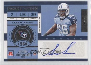 2011 Playoff Contenders - [Base] #105 - Akeem Ayers /188