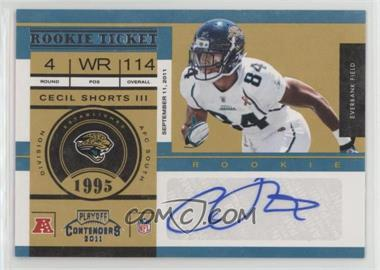 2011 Playoff Contenders - [Base] #118 - Cecil Shorts /99