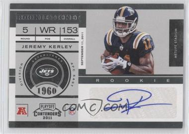 2011 Playoff Contenders - [Base] #140 - Jeremy Kerley /82