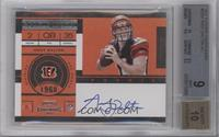 Andy Dalton (Base) [BGS 9 MINT]
