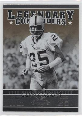 2011 Playoff Contenders - Legendary Contenders #13 - Fred Biletnikoff