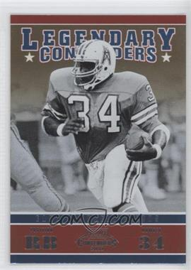 2011 Playoff Contenders - Legendary Contenders #2 - Earl Campbell