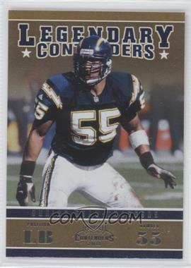 2011 Playoff Contenders - Legendary Contenders #24 - Junior Seau