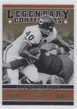 2011 Playoff Contenders - Legendary Contenders #8 - Gale Sayers