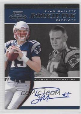 2011 Playoff Contenders - Rookie Ink #12 - Ryan Mallett /25