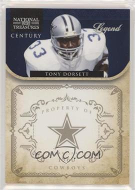 2011 Playoff National Treasures - [Base] - Century Silver #196 - Tony Dorsett /25
