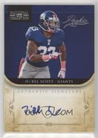 Da'Rel Scott [Noted] #/99