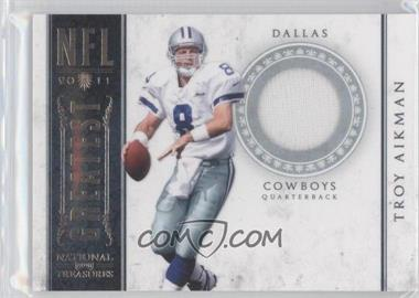 2011 Playoff National Treasures - NFL Greatest - Materials [Memorabilia] #17 - Troy Aikman /99