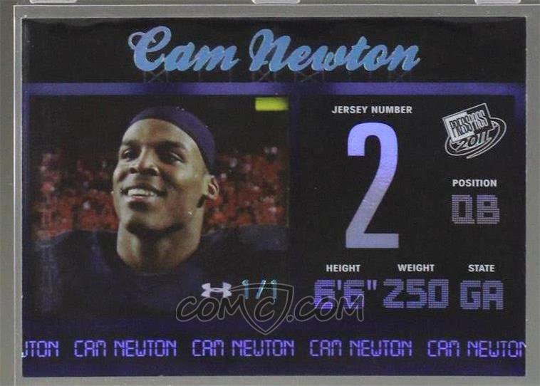 cheap for discount 7193a 5ce1c 2011 Press Pass - [Base] - Platinum Reflectors #6 - Cam ...