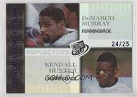 DeMarco Murray, Kendall Hunter /25
