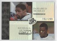DeMarco Murray, Kendall Hunter /299