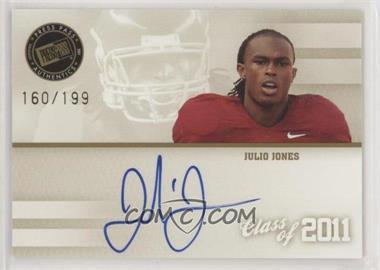 2011 Press Pass - Class of 2011 Autographs #C11-JJ - Julio Jones /199