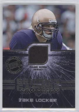 2011 Press Pass - Gridiron Gamers Jerseys - Silver #GG-JL - Jake Locker /225