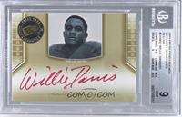 Willie Davis [BGS 9 MINT]