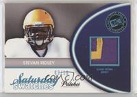 Stevan Ridley #/10