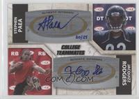 Jacquizz Rodgers, Stephen Paea #/25