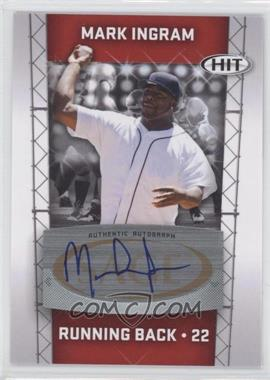 2011 SAGE Hit - Autographs #A22 - Mark Ingram