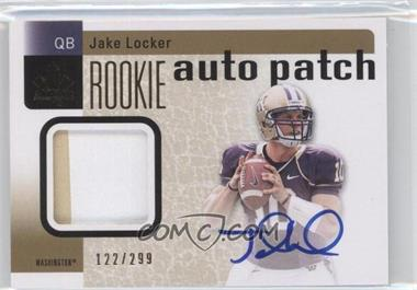 2011 SP Authentic - [Base] #201 - Jake Locker /299