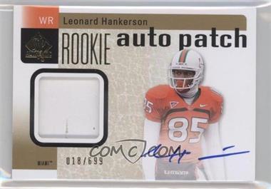2011 SP Authentic - [Base] #212 - Leonard Hankerson /699
