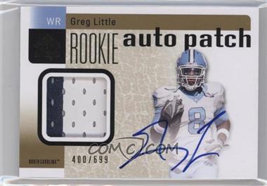2011 SP Authentic - [Base] #219 - Greg Little /699