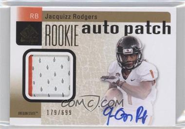 2011 SP Authentic - [Base] #223 - Jacquizz Rodgers /699