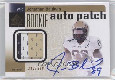 2011 SP Authentic - [Base] #224 - Jonathan Baldwin /699
