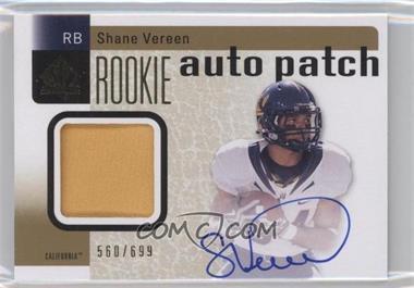2011 SP Authentic - [Base] #226 - Shane Vereen /699