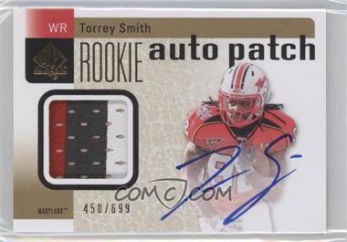 2011 SP Authentic - [Base] #227 - Torrey Smith /699