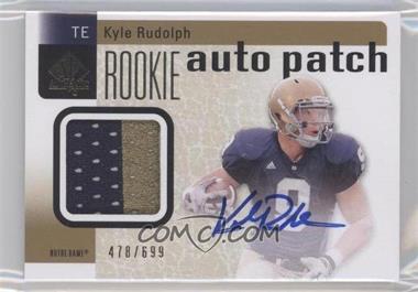 2011 SP Authentic - [Base] #230 - Kyle Rudolph /699