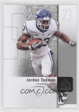 2011 SP Authentic - [Base] #84 - Jordan Todman