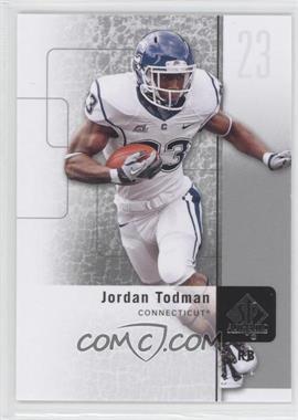 2011 SP Authentic - [Base] #84 - Jordan Todman