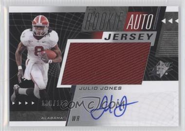2011 SP Authentic - SPx #64 - Julio Jones /150