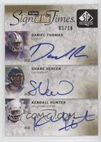 Daniel Thomas, Shane Vereen, Kendall Hunter /10