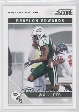 2011 Score - [Base] - Artist Proof #199 - Braylon Edwards