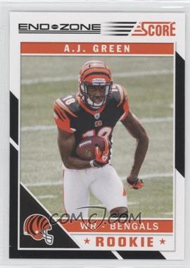 2011 Score - [Base] - End Zone #301 - A.J. Green