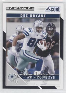 2011 Score - [Base] - End Zone #77 - Dez Bryant