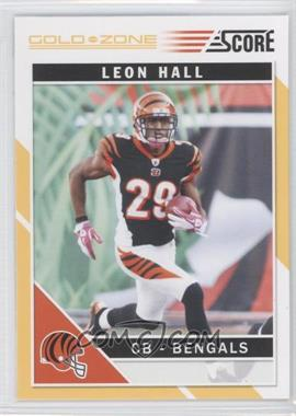 2011 Score - [Base] - Gold Zone #64 - Leon Hall