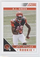 A.J. Green (Ball over Jersey Number)