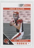 Andy Dalton (Only Left Hand Visible)