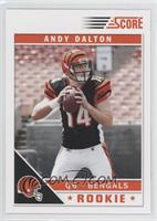 Andy Dalton (Full Jersey Front Visible)