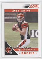 Andy Dalton (Number Visible in Background)