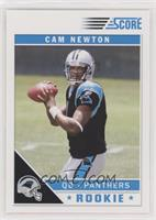 Cam Newton (NFL Logo on Ball Fully Visible)