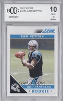 Cam Newton (NFL Logo on Ball Fully Visible) [BCCGMint]