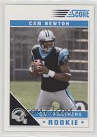 Cam Newton (Top of Zero Visible in Background)
