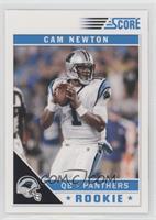 Cam Newton (White Jersey)