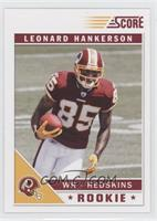 Leonard Hankerson (Left Hand to Side)